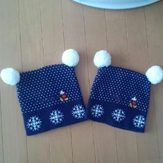 ミッキーマウス(ミッキーマウス)のミッキーマウス ニット帽(ニット帽/ビーニー)
