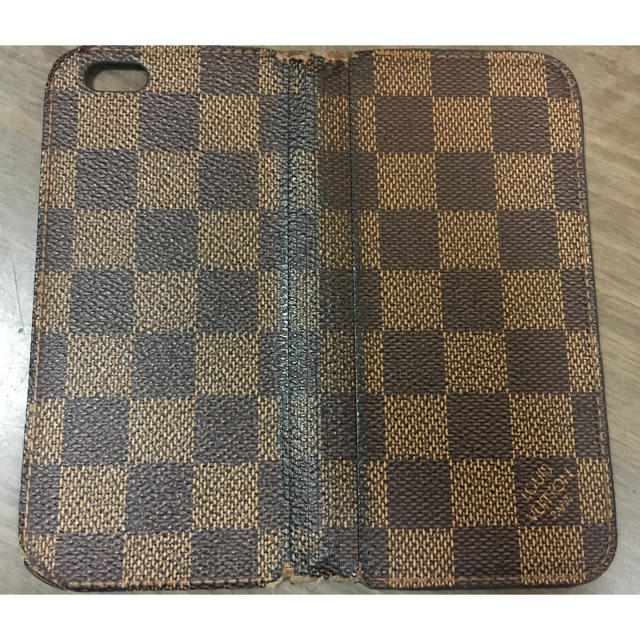 LOUIS VUITTON - 最終価格 ルイヴィトン ダミエ  iPhone ケース 6、6S 用 正規品の通販 by スマイリー's shop|ルイヴィトンならラクマ