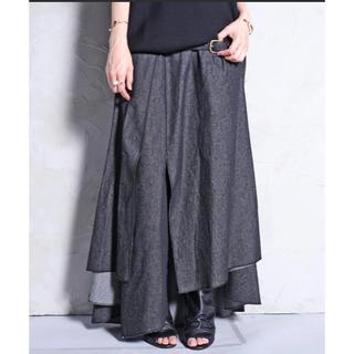 アンティカ(antiqua)のゆの様専用 アンティカ   デニム変形スカート  美品 完売品(ロングスカート)
