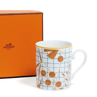 エルメス(Hermes)のエルメス ウォークインザガーデン オレンジ マグ 300ml HERMES(マグカップ)