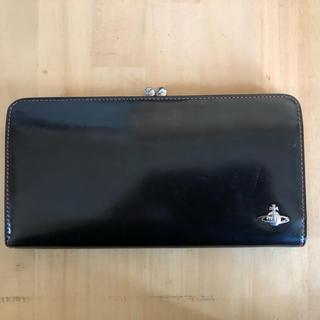 ヴィヴィアンウエストウッド(Vivienne Westwood)のVivienne Westwood がま口 長財布 ブラック 新品未使用(財布)
