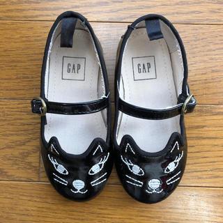 ギャップ(GAP)のGAP 猫靴  13.5センチ(フラットシューズ)