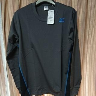ミズノ(MIZUNO)のミズノ 裏起毛切替長袖Tシャツ(Tシャツ/カットソー(七分/長袖))