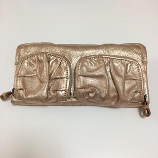 ミナペルホネン(mina perhonen)のebagos エバゴス 長財布(財布)