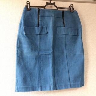 アンティックラグ(antic rag)のタイトスカート デニム(ひざ丈スカート)