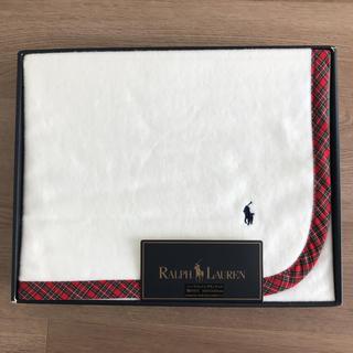 ラルフローレン(Ralph Lauren)のラルフローレン コットンハーフブランケット(毛布)