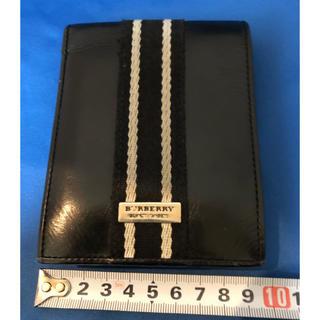 バーバリーブラックレーベル(BURBERRY BLACK LABEL)のバーバリーブラックレーベル 財布 黒(折り財布)