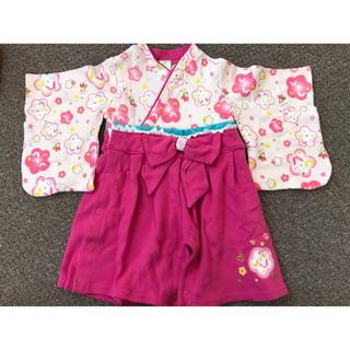 ディズニー(Disney)のDisney 着物型ロンパース(和服/着物)