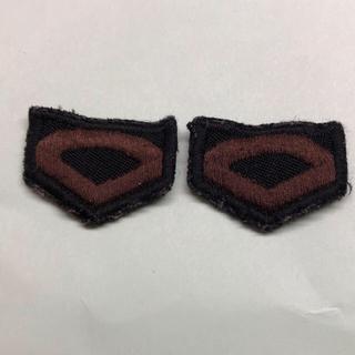 金剛院様専用 陸上自衛隊階級章(戦闘服用) 3等陸曹(襟章)