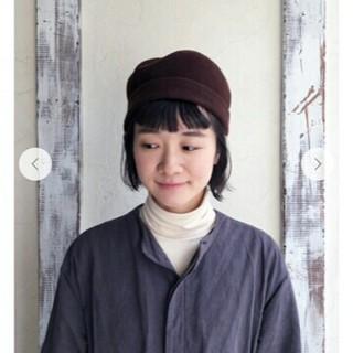 ネストローブ(nest Robe)の実物写真追加 ネストローブ ベレー帽(ハンチング/ベレー帽)