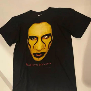 フィアオブゴッド(FEAR OF GOD)のマリリンマンソン vintage ビンテージ tシャツ(Tシャツ(半袖/袖なし))