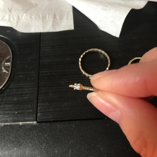 GRL(グレイル)のファッション トップス スカート ワンピース INGNI GRL Heather レディースのアクセサリー(リング(指輪))の商品写真