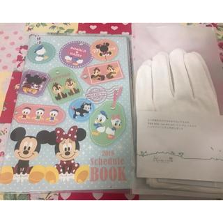 ディズニー(Disney)の2019年 おまけ付🧤ディズニー手帳(手帳)