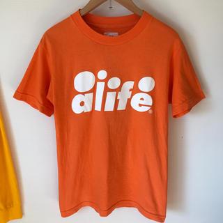 エーライフ(ALIFE)のalife オレンジ Tシャツ(Tシャツ/カットソー(半袖/袖なし))
