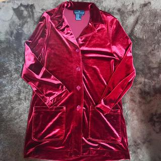 ユニクロ(UNIQLO)のベロア パジャマシャツ(シャツ)