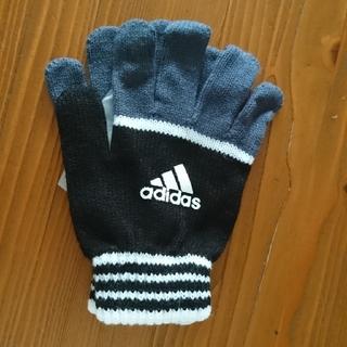 アディダス(adidas)のアディダス 手袋 ジュニア向けサイズ (手袋)