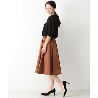 デミルクスビームス(Demi-Luxe BEAMS)の2017AW デミルクスビームス スカート テラコッタ 36(ひざ丈スカート)