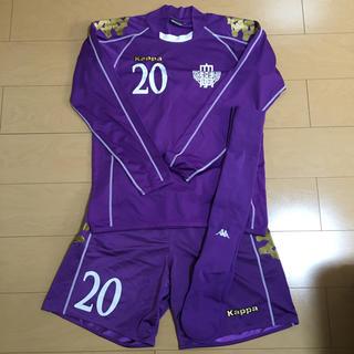 カッパ(Kappa)のサッカーユニフォーム(明治大学)(ウェア)