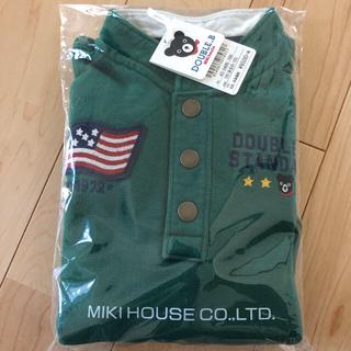 ミキハウス(mikihouse)の新品未使用⭐️ミキハウス ダブルB トレーナー100センチ(ジャケット/上着)