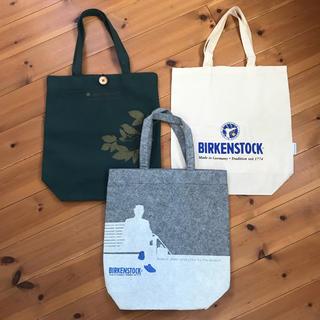 ビルケンシュトック(BIRKENSTOCK)のビルケンシュトック☆ショップバッグ3点セット エコバッグ サンダル ボストン(エコバッグ)
