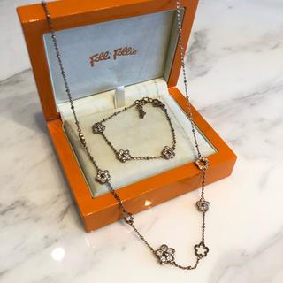 フォリフォリ(Folli Follie)のフォリフォリ ブレスレット ネックレス セット 美品 folli folli(ネックレス)