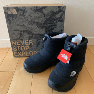 ザノースフェイス(THE NORTH FACE)のザ ノースフェイス ヌプシ ブーティー ウールⅣ ショート 25cm 新品(ブーツ)