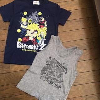 ドラゴンボール(ドラゴンボール)のドラゴンボールZ キッズTシャツ2枚組(Tシャツ/カットソー)