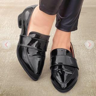 レディー(Rady)のMICOAMERI バイカラーフラットシューズ(ローファー/革靴)