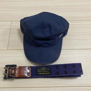 ユニフォームエクスペリメント(uniform experiment)のUE ベルト キャップ 2個セット(キャップ)
