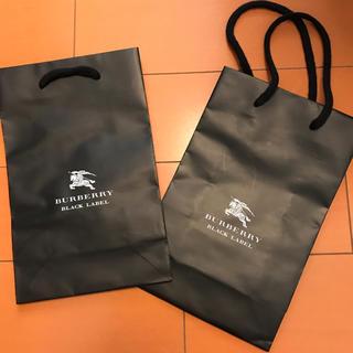 バーバリーブラックレーベル(BURBERRY BLACK LABEL)のBurberry black label 紙袋(その他)
