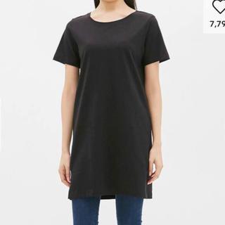 ジーユー(GU)のGU Tシャツ ワンピース(ミニワンピース)