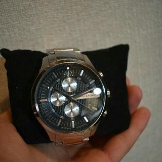 アルマーニエクスチェンジ(ARMANI EXCHANGE)のARMANI EXCHANGE 銀時計(金属ベルト)