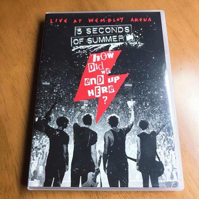 5 SECONDS OF SUMMER LIVE DVD  エンタメ/ホビーのDVD/ブルーレイ(ミュージック)の商品写真
