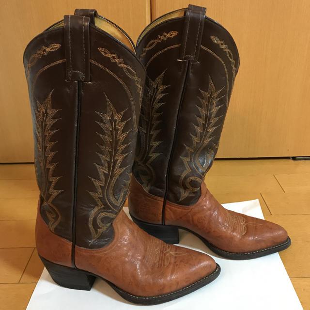 Tony Lama(トニーラマ)のトニーラマ ウエスタンブーツ 23.5 レディースの靴/シューズ(ブーツ)の商品写真