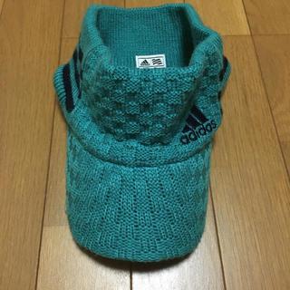 アディダス(adidas)のadidas  ニット サンバイザー(キャップ)