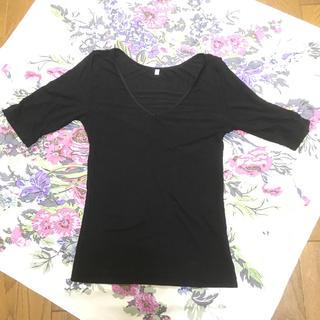 ムジルシリョウヒン(MUJI (無印良品))のまみこ様専用です。無印良品 五分袖インナー Lサイズ(アンダーシャツ/防寒インナー)