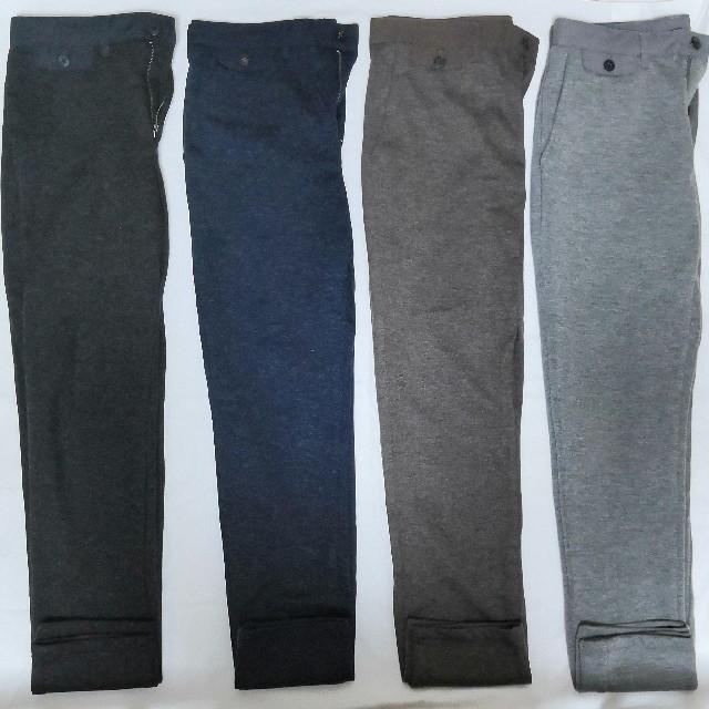 GU(ジーユー)の送料無料【GU】全色コンプリート!スウェットテーパードトラウザーパンツ メンズのパンツ(スラックス)の商品写真