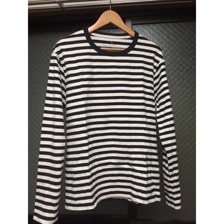 ムジルシリョウヒン(MUJI (無印良品))のmuji striped t-shirt(Tシャツ/カットソー(七分/長袖))
