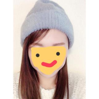エイチアンドエム(H&M)のニット帽子(ニット帽/ビーニー)