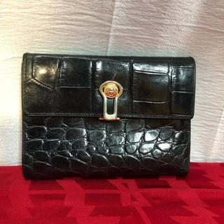 969138baf28c ジャンニヴェルサーチ(Gianni Versace)のGV ジャンニヴェルサーチ 折りたたみ財布 正規品(折り