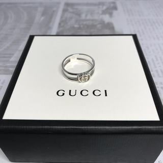 グッチ(Gucci)の未使用 グッチ GUCCI シルバーリング サイズ 15号指輪 ダブルG ロゴ(リング(指輪))