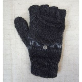 ジャーナルスタンダード(JOURNAL STANDARD)のアルパカ 指なし 手袋  冷えとり ウール 手編み ハンドメイド フェアトレード(手袋)