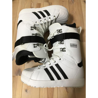 アディダス(adidas)のadidassnowboarding ブーツ スーパースター 26.5(ブーツ)