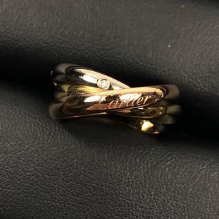 カルティエ(Cartier)のカルティエ CARTIER トリニティ ダイヤモンド リング(リング(指輪))