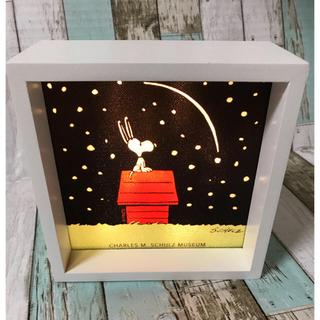 スヌーピー(SNOOPY)のスヌーピーシュルツミュージアム限定 LIGHT BOX (蛍光灯/電球)