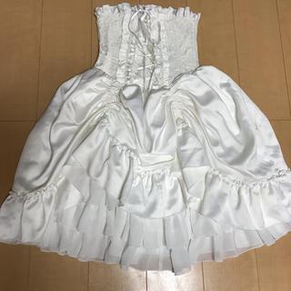 アトリエボズ(ATELIER BOZ)のATELIER PIERROTコルセットスカート(ひざ丈スカート)