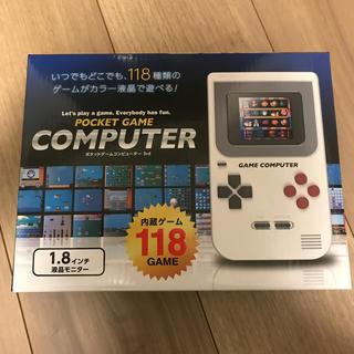 ピーナッツ(PEANUTS)のポケットゲームコンピュータ 3rd(家庭用ゲーム機本体)