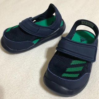 アディダス(adidas)のadidas BABY FORTASWIM キッズサンダル BA9375(サンダル)