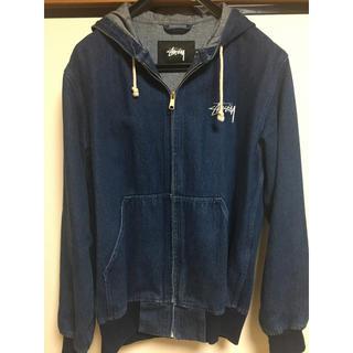 ステューシー(STUSSY)のSTÜSSY Atlantic hoodie jacket(Gジャン/デニムジャケット)
