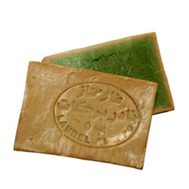 アレッポの石鹸(アレッポノセッケン)のオリーブとローレルの石鹸(ノーマル)2個セット アレッポの石鹸職人から コスメ/美容のボディケア(ボディソープ/石鹸)の商品写真